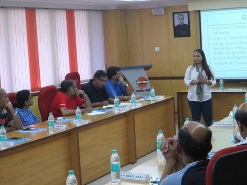 Corporate session by Dr. Nutan Pakhare