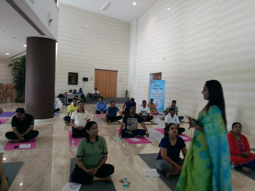 Dr. Nutan Pakhare's practical class